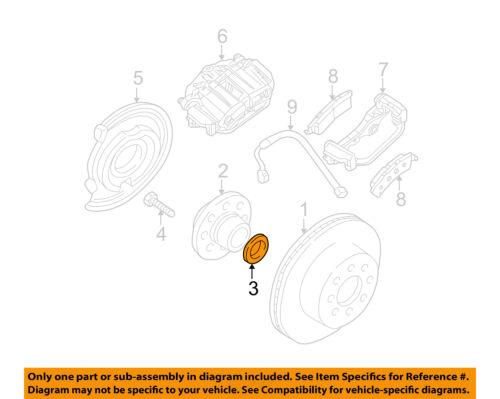 SILVERADO SIERRA HD2500 HD3500 AXLE TO HUB GASKET NEW OEM  12471641