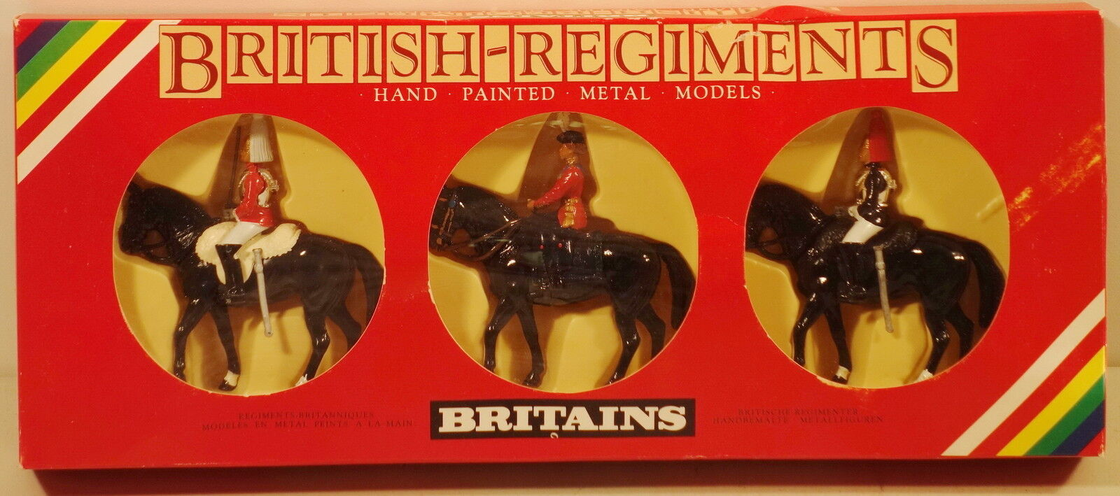 DTE 3 PC ENGLAND BRITAINS HER MAJESTY QUEEN QUEEN QUEEN ELIZABETH MOUNTED HORSEGUARD cbb5b6