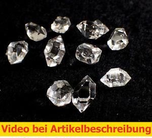5545-10-ST-Herkimer-034-Diamonds-034-034-Diamond-034-Herkimer-Quartz-USA-video