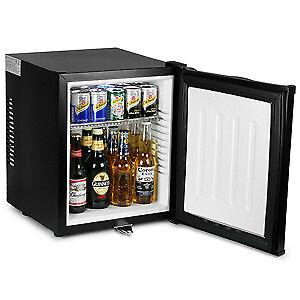 Image Is Loading Chillquiet Silent Mini Bar Fridge 32ltr Black Hotel