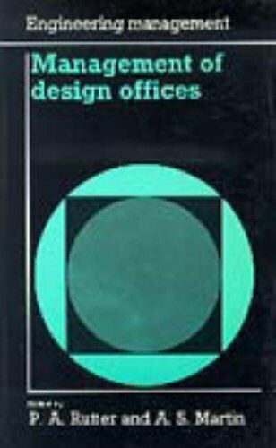 Management of Design Offices by A S Martin Paperback Book The Fast Free Shipping