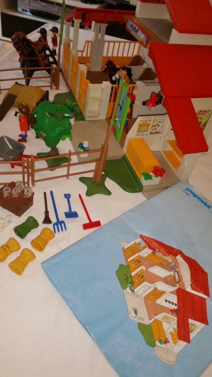 Playmobil Playmobil Playmobil 4190 Reiterhof mit Extra Pferde & Figuren 59ad91