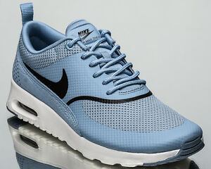 1b5075f7b9 Nike WMNS Air Max Thea women lifestyle sneakers NEW blue grey 599409 ...