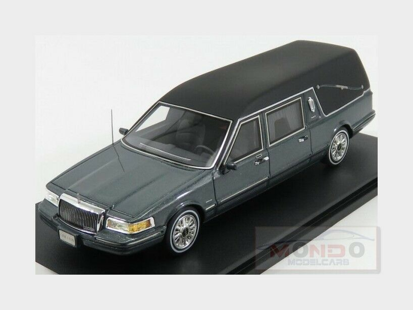 Lincoln Towncar Carro Funebre Hearse Funeral Car 1997 1997 1997 GLM 1 43 GLM43102701 Model ecbdd3
