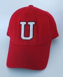 8fa65ae7359 U DEVILS Size MED-LG PRO 585 FLEXFIT 15% WOOL Baseball Cap Hat by ...