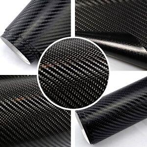 16 96 m premium 4d carbon folie selbstklebend schwarz. Black Bedroom Furniture Sets. Home Design Ideas