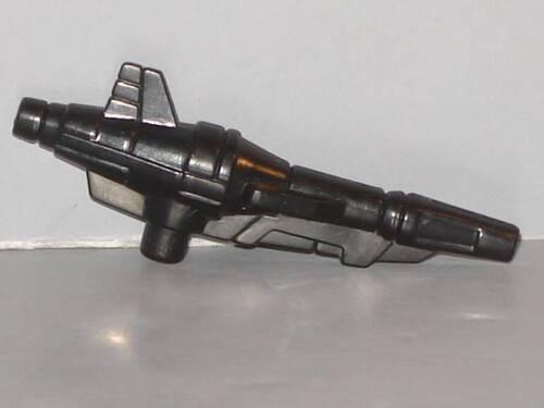 G1 TRANSFORMER PRETENDER ROADBLOCK LARGE GUN LOT # 1