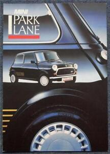 MINI-PARK-LANE-SPECIAL-EDITION-Car-Sales-Brochure-1987-3880