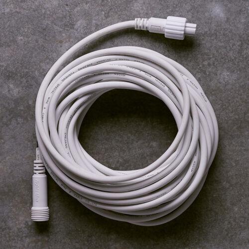 Verlängerungskabel 5m oder 10m Schwarz Weiß für PRO Serie Kabel zur Verlängerung