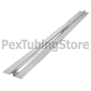 50-4ft-Aluminum-Radiant-Floor-Heat-Transfer-Plates-for-1-2-034-PEX-Tubing