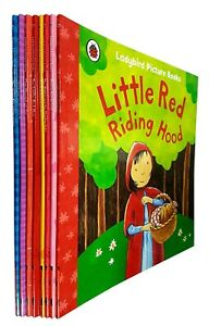 Ladybird-Picture-Books-Collection-Series-1-Little-Red-Riding-Hood-8-Books-Set