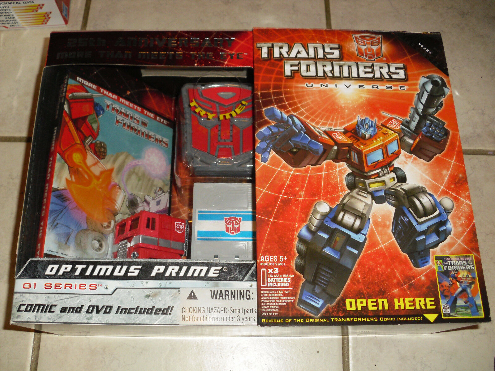 Transformers Optimus Prime 25 aniversary