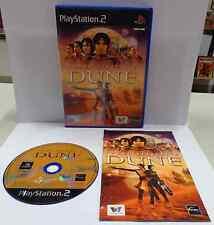 Console Game Gioco SONY Playstation 2 PS2 PAL Play ITALIANO FRANK HERBERT'S DUNE