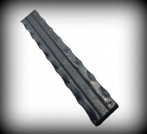 Flachstahl 30x5 mm gehämmert 2000 mm Handlauf Flacheisen Schmiedeeisen 19-101-2