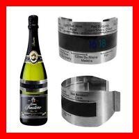 Bracelet Vin Thermomètre Rouge Blanc Rose Bière Porto Whisky Champagne Dry Inox
