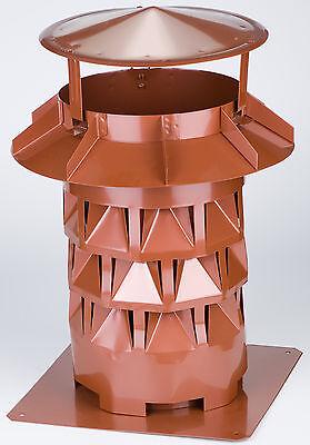 Nennweite Ø 180 Mm Perlkupferfarben Kaminaufsatz Windkat Mit Grundplatte Hohe QualitäT Und Preiswert