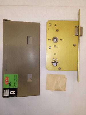 Business & Industrie SchöN Einsteckschloss Für Bks Rundzylinder 3107 Stumpf Rechts 80/74 Stulp SchrÄge 9 üBerlegene Materialien