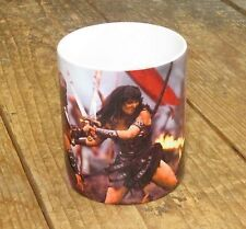 Xena Warrior Princess Fighting MUG
