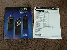 Standard HX580T HX581T HX582T Dealer Sales Brochure Hand-Held Portable Radio
