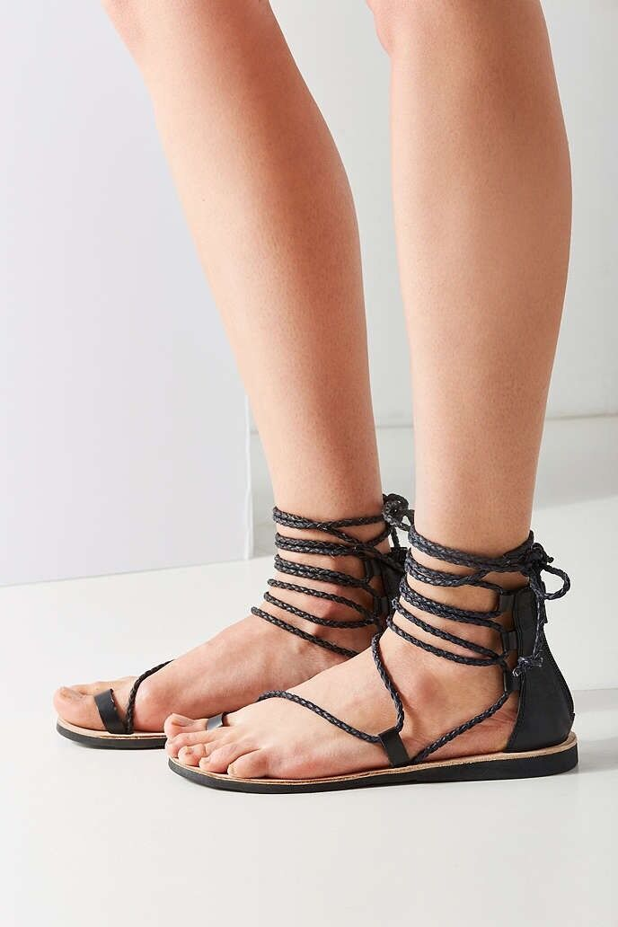 Jeffrey Campbell Adios Gladiator Sandals Size 7.5 MSRP   110 Women New