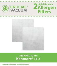 2 Kenmore CF1 Vacuum Filters CF-1 20-86883 86883 2086883 4370616 8175084 20868