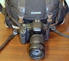 Canon EOS 7D 18.0 MP Digital SLR Camera with EF-S 55-250mm f 4-5.6 Lens Bag LOT