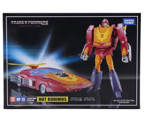Takara Transformers Masterpiece MP-28 Hot Rodimus Action Figures Car Kid Boy Toy