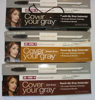 3 Cover Your Grey 2-in-1 Applicator In Black By Irene Gari