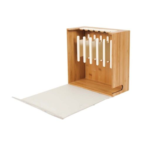 Cord Corral Cable and Cord Organizer with 6-Magnetically Secured Spindles G.U.S