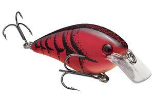 Strike King Crankbait SquareBill MAGNUM HCKVDS8.0-450 Delta Red Crawfish Lure