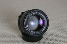 Canon 50mm f/1.4 FD-mount Manual Focus lens - Very Nice!