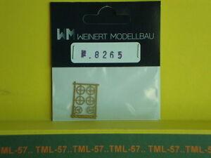 Détaillage WEINERT HO laiton porte lanterne ou disque de signalisation ref 8263