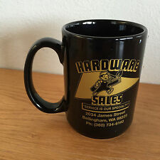Hardware Sales Coffee Mug  Bellingham  WA  50 Years In Business   4 1/2""
