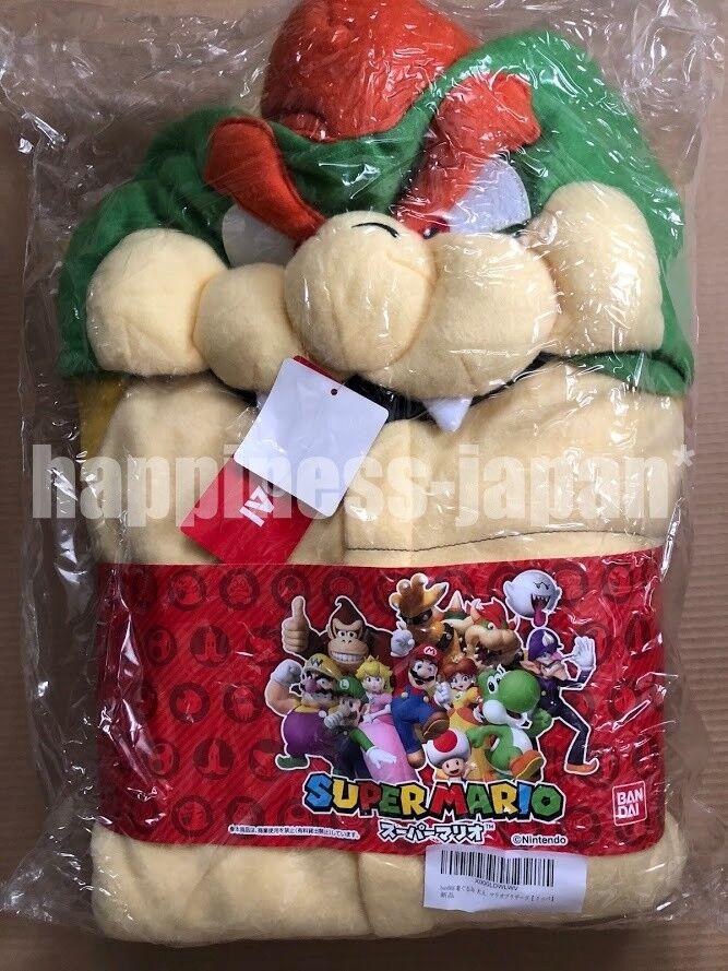 Sazac Super Mario Brothers Bowser King Koopa Fleece Costume Unisex