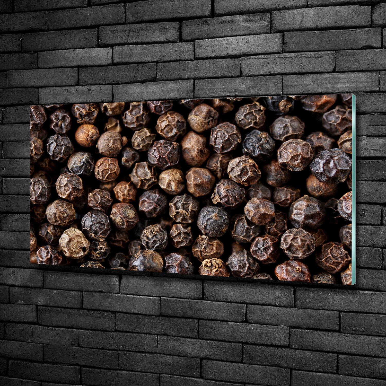 Acrylglas-Bild Wandbilder Druck 100x50 Deko Essen & Getränke Pfeffer Körner