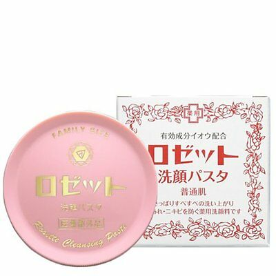 Rosette Cleansing Pasta Normal skin Face Wash Foam 90g from Japan