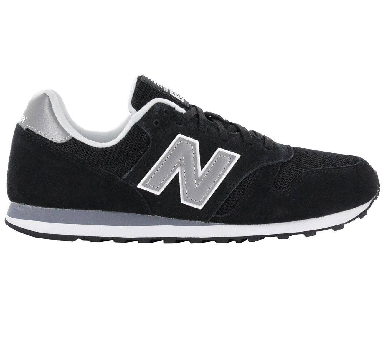 New Balance Classics Baskets Hommes 373 Noir Chaussures de Sport ML373GRE Neuf