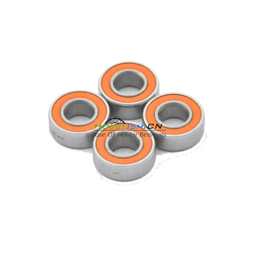 4pcs 5x9x3 Hybrid Ceramic Stainless Bearing Oiled S95C 2OS A7
