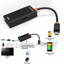 Slimport MyDP To HDMI HD TV Adapter Cable For Google Nexus  7 5 4 / LG G3 G2