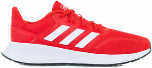 adidas-Runfalcon-Men-039-s-Running-Shoes-Lightweight-Sneakers-Breathable-Red-F36202