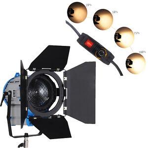 Fs3050 300w 500w Film Fresnel Projecteur Eclairage Tungstene Video