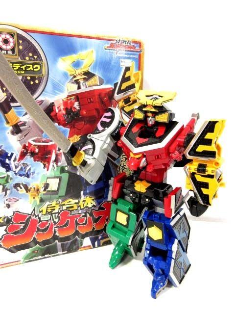 Power Rangers SAMURAI Shinkenger DX SAMURAI MEGAZORD ShinkenOh Bandai JP
