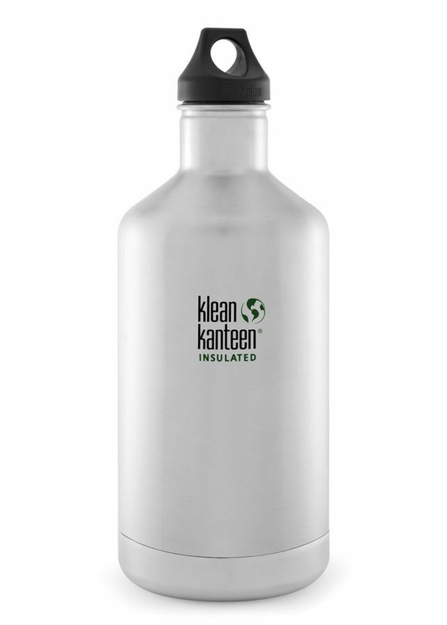Klean Kanteen Classic Insulated 64 oz 1900 ml Stainless Steel Water Drink Bottle