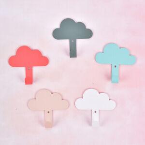 Cloud-Adhesive-Sticky-Hooks-Storage-Wall-Hangers-Kitchen-Bathroom-Towel-shAA