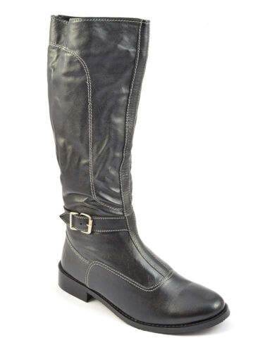 pelle alto Stivali pelliccia zip da donna con zip con e tacco in in YaBw8gqnBT
