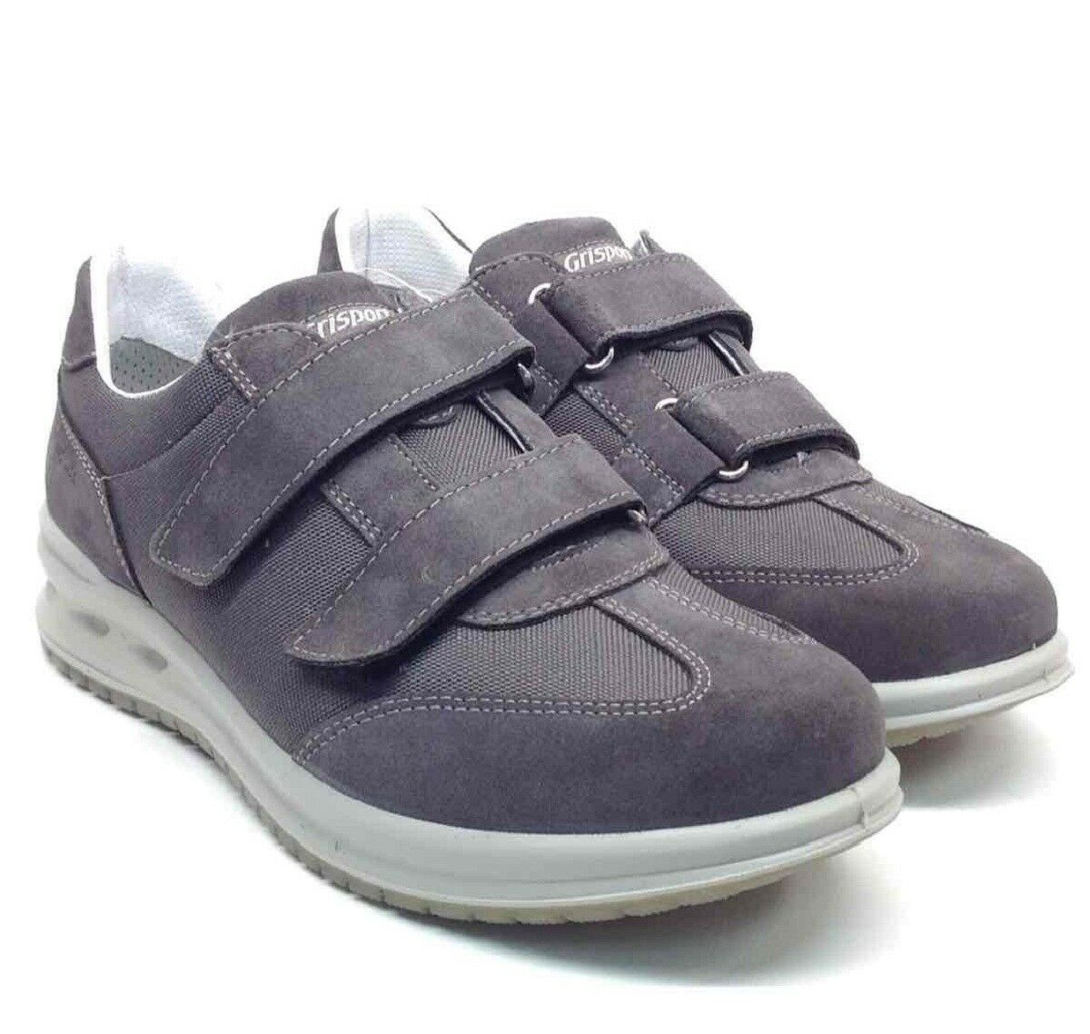 greyPORT Active shoes men a strappi grey Sneakers 43029V34 Made in