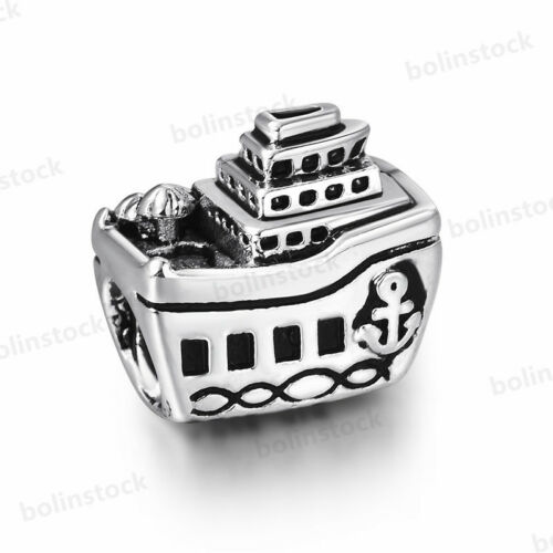 European Sterling Fashion 925 Murano Glass Silver Charms Bead for Bracelet Chain