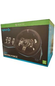 Logitech G920 Driving Force Racing Wheel & Responsive Pedals For Xbox One & PC