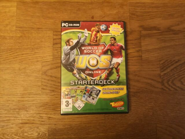 World Of Soccer Online - Starterdeck (PC, 2007)