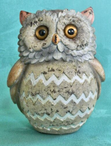 GORGEOUS CUTE  3D OWL STATURE ORNAMENT COLLECTABLE INDOOR OUTDOOR